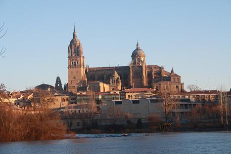 Salamanca, la ciudad de la piedra roja.