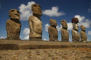 Las estatuas de Isla de Pascua