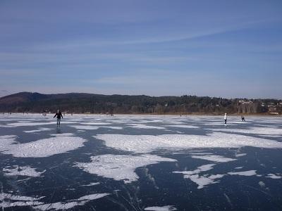 Brno - Lago - Invierno