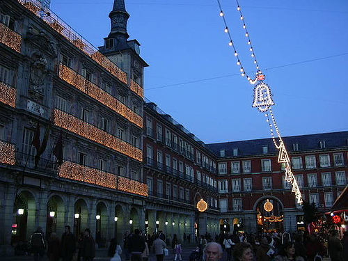 Madrid Navidad Plaza Mayor