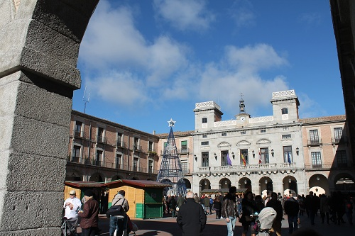 Plaza mayor - Avila