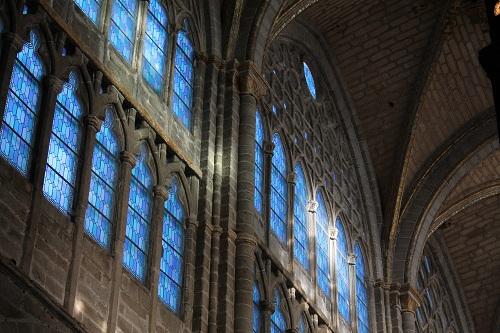 Vidrieras - Avila - Catedral