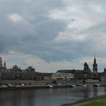 Dresden, capital de Sajonia, Alemania
