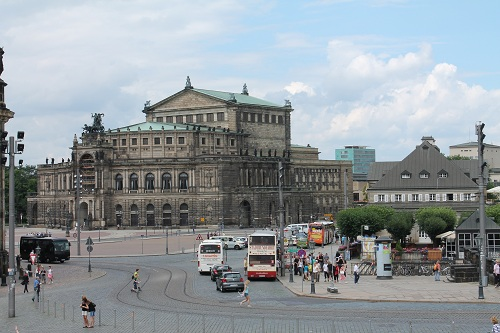Opera de Dresden - Alemania - Sajonia