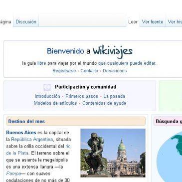 Wikivoyage, la wikipedia para viajes