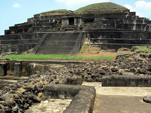 ruinas mayas de tazumal El Salvador