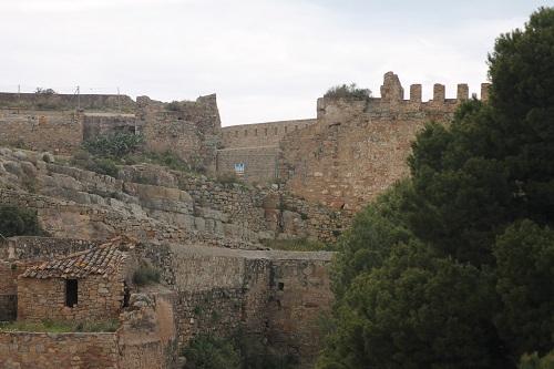 Castillo de Sagunto murallas