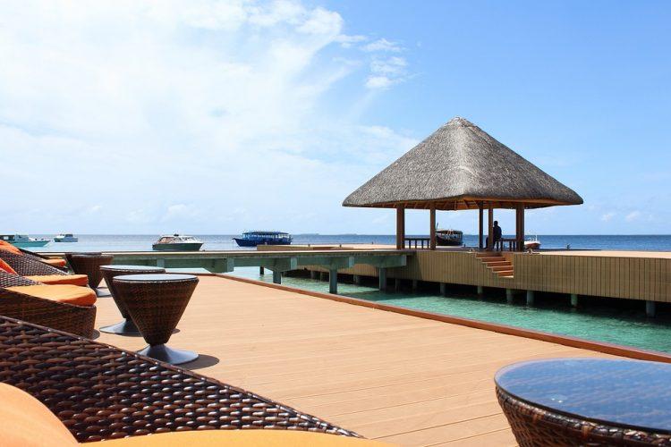 hoteles de lujo maldivas